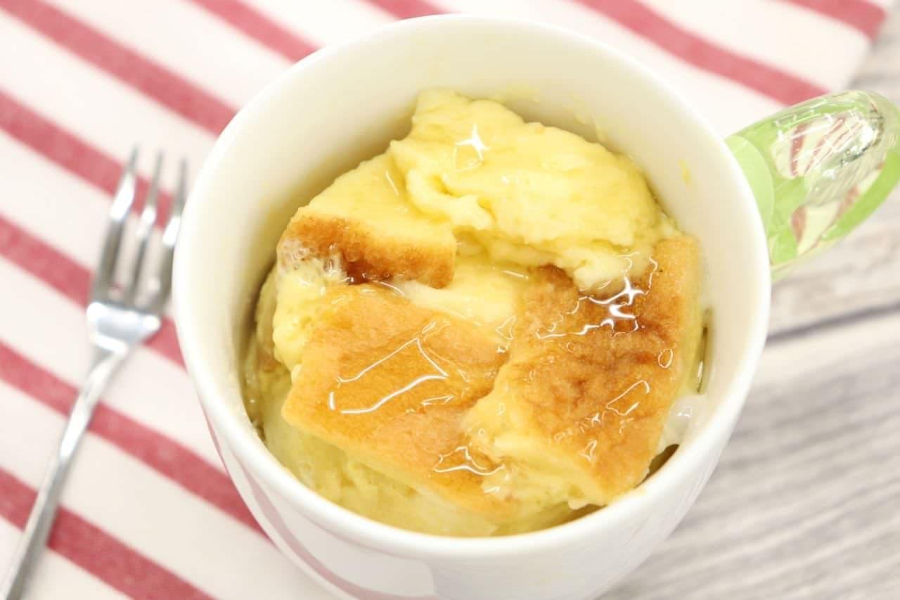 レシピ 「マグカップフレンチトースト」