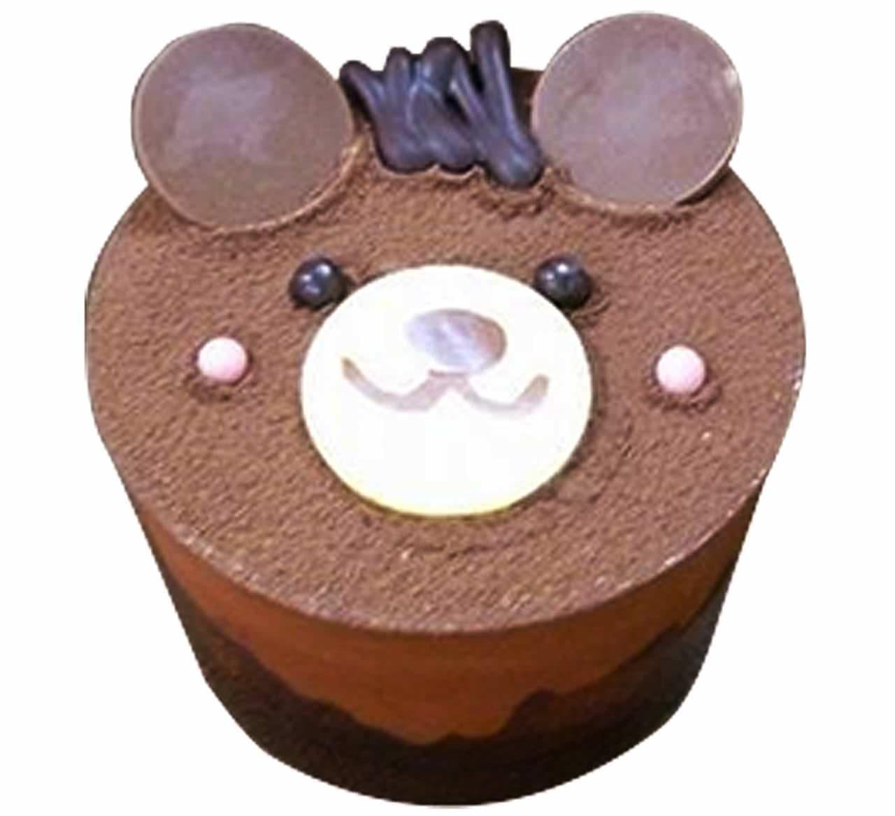 シャトレーゼ「くまちゃんケーキ」