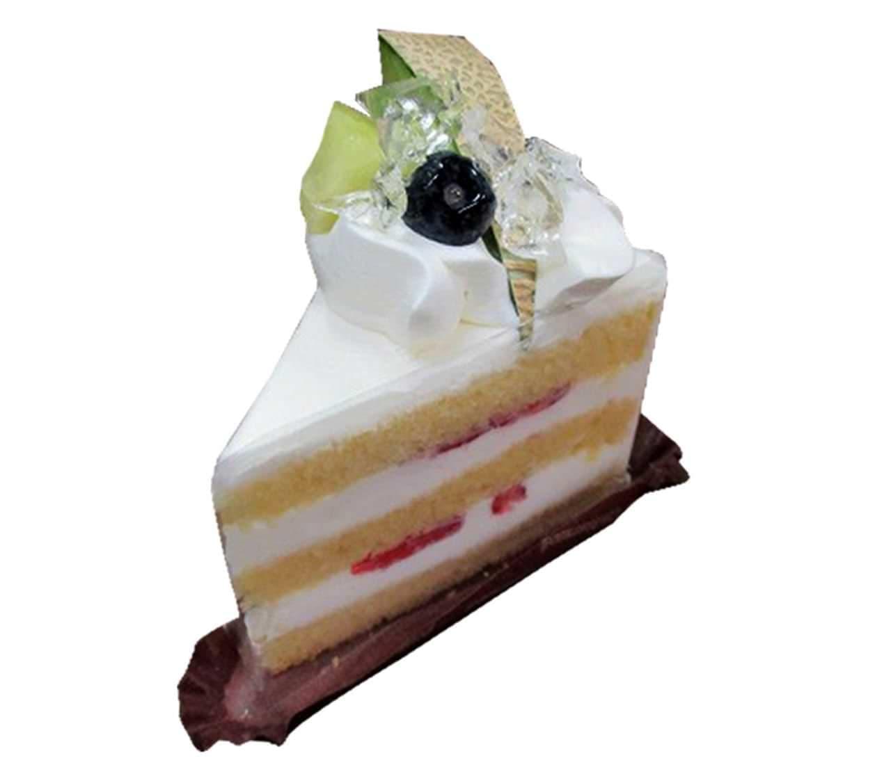 シャトレーゼ「アンデスメロンとフルーツのプレミアムショートケーキ」