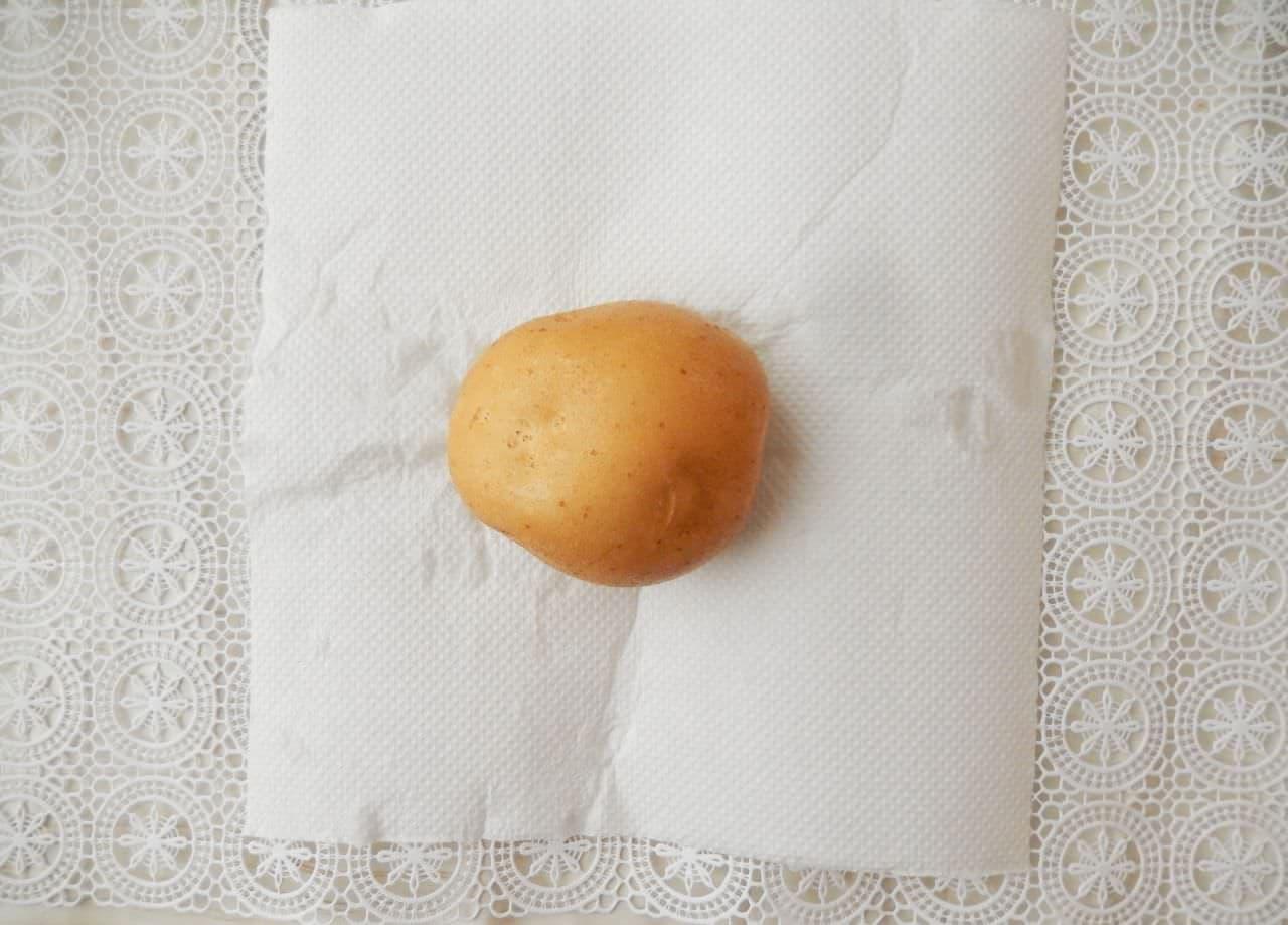 じゃがいも丸ごと使った「ずぼらのポテトサラダ」