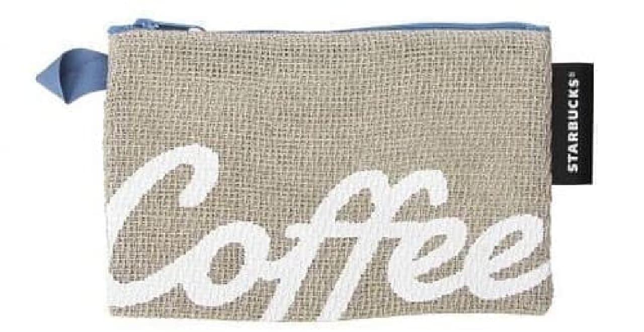 スターバックス「パナマ織りコーヒーポーチ」