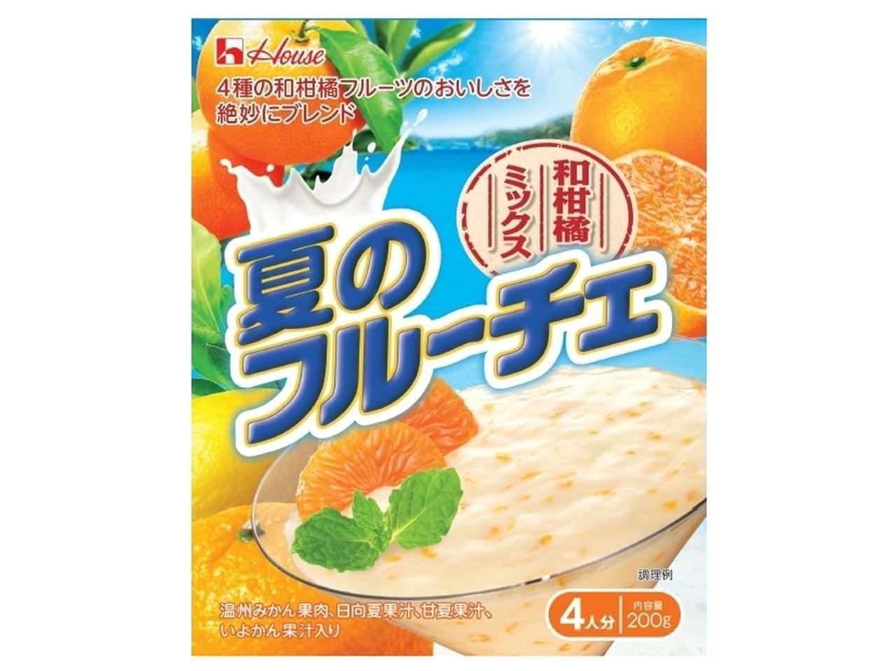 『フルーチェ』の夏季限定商品「夏のフルーチェ」