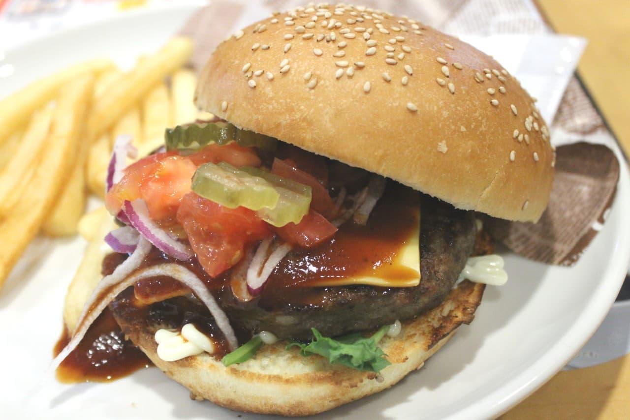 ガストのハンバーガー「ガストバーガー」