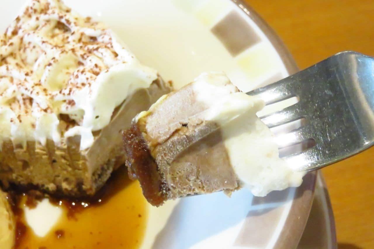 サイゼ「カプチーノ(アイスケーキ)」