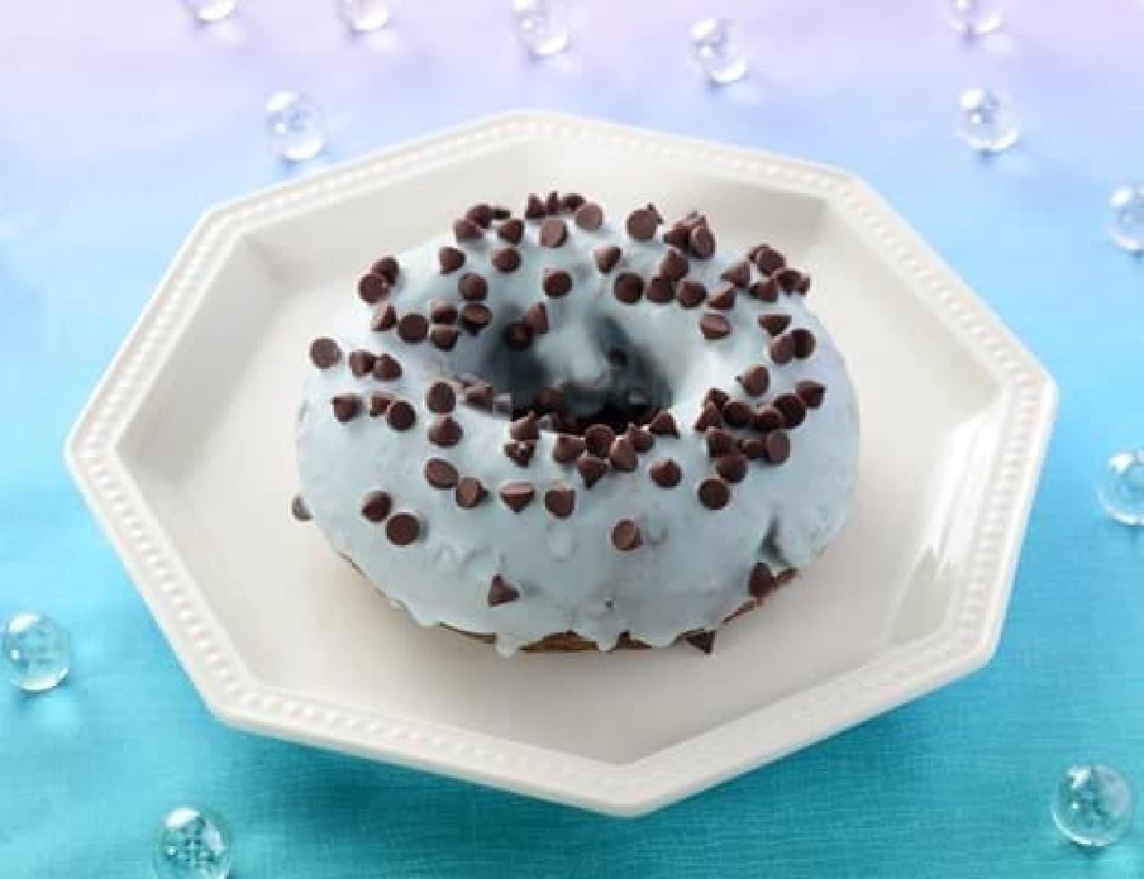 ローソン「チョコミントドーナツ」