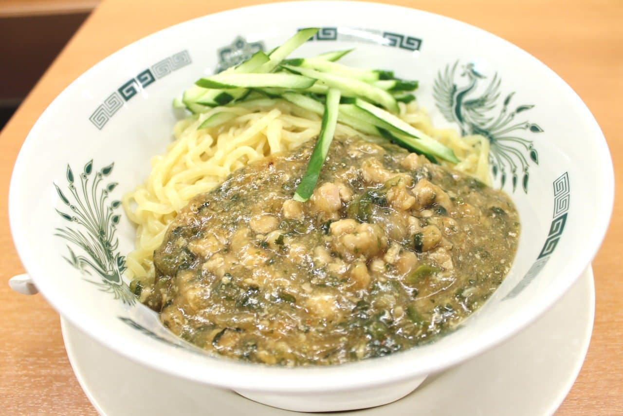 日高屋「ガパオ汁なし麺」