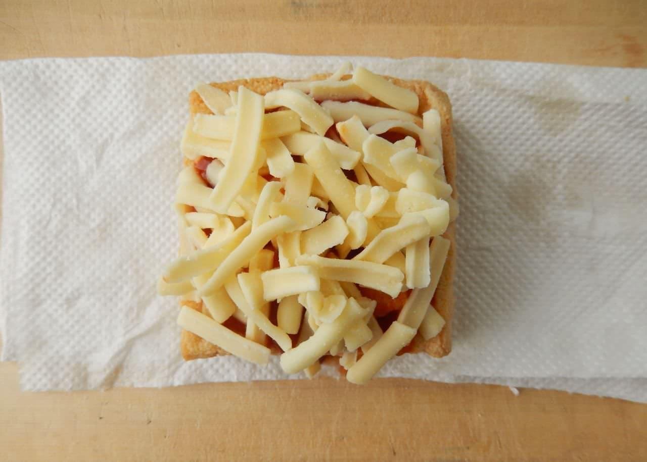 「厚揚げグラタン」の簡単レシピ