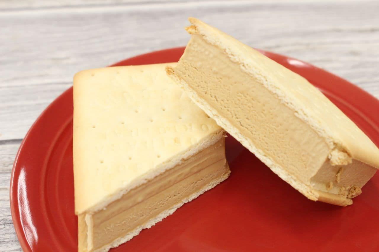 森永製菓「ビスケットサンド<ミルクキャラメル>」
