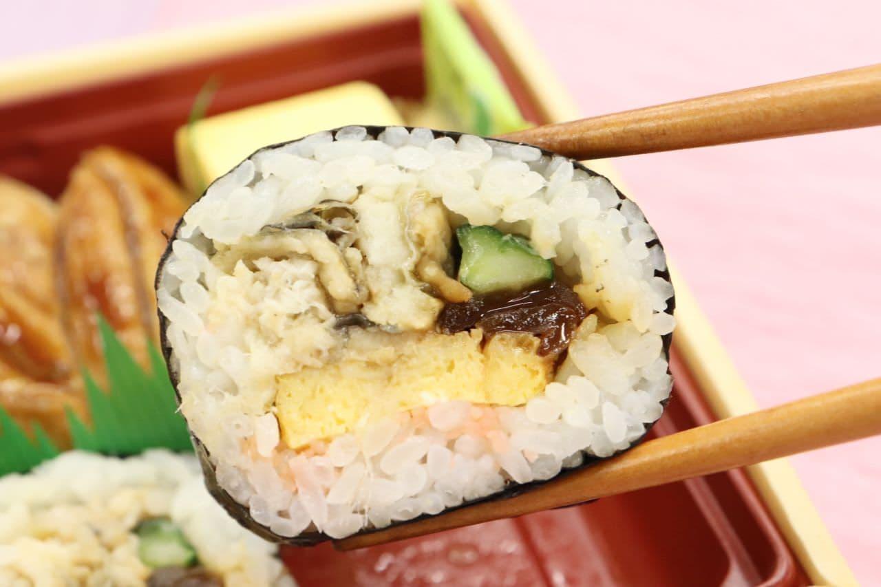 イトーヨーカドー「うなぎと煮穴子の食べ比べ寿司」
