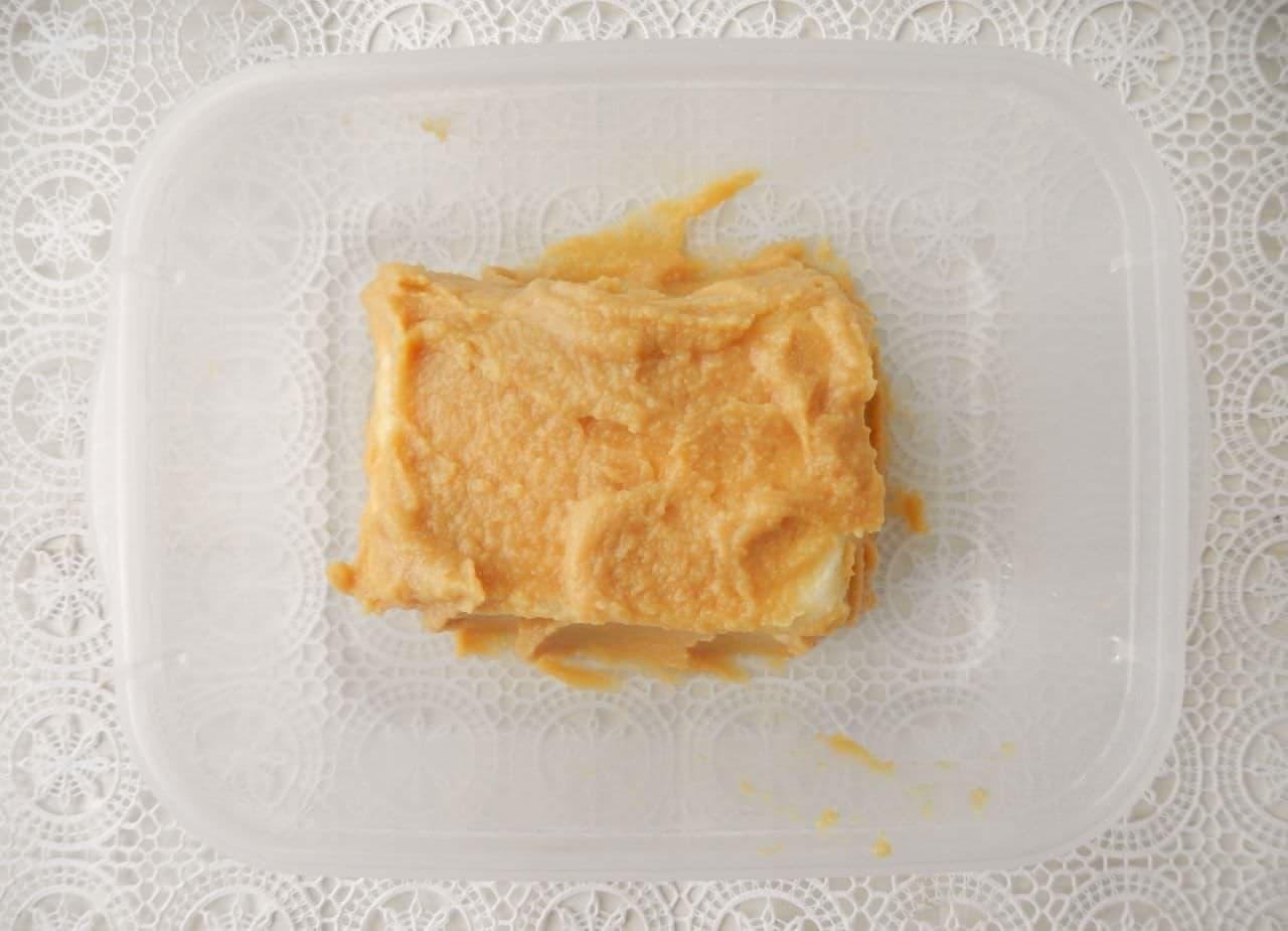 「とうふの味噌漬け」レシピ