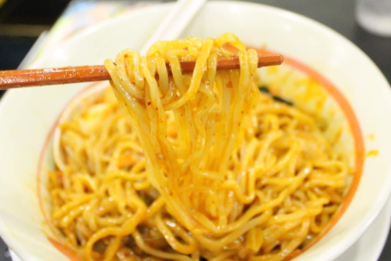 幸楽苑「台湾野菜まぜ麺」