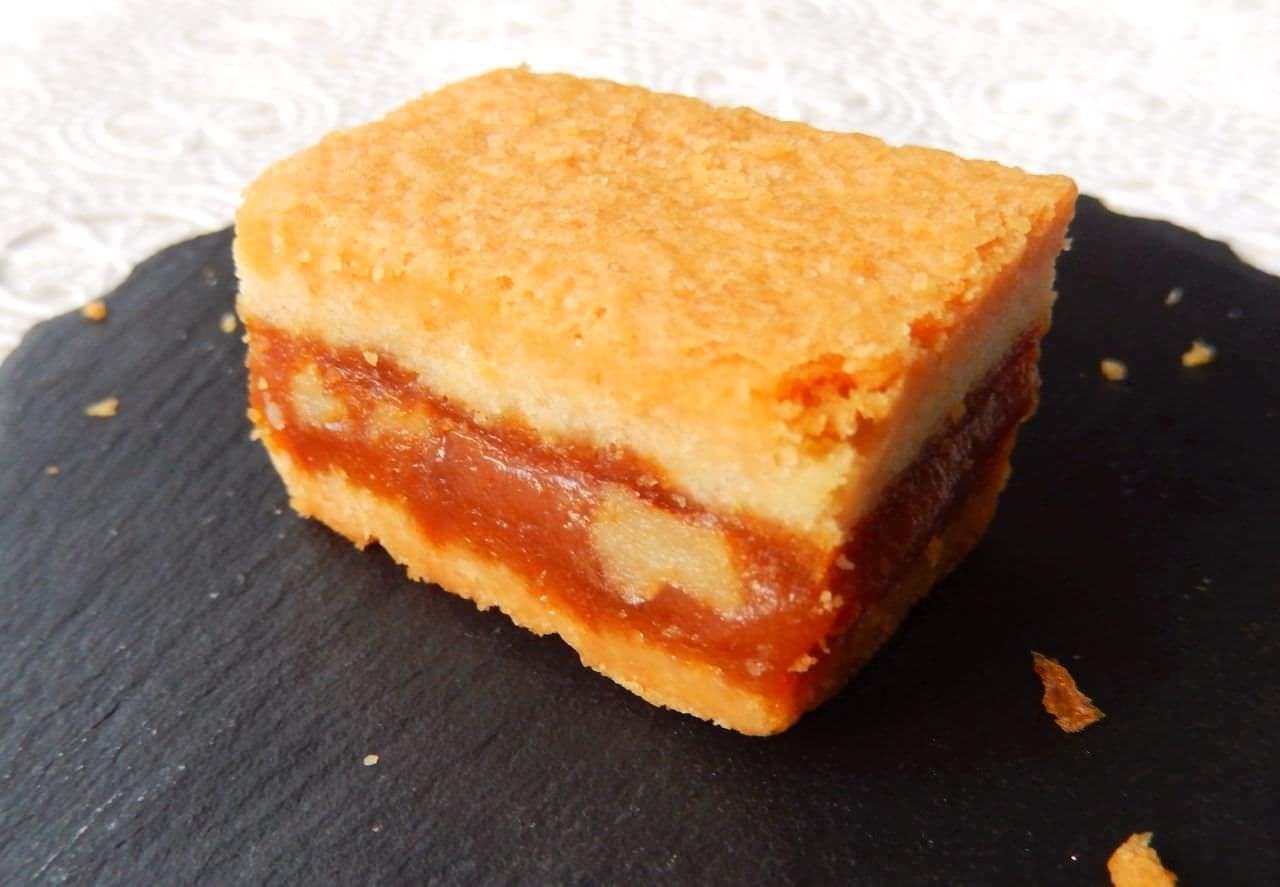 カルディのオリジナル菓子「くるみとキャラメルのクッキー」