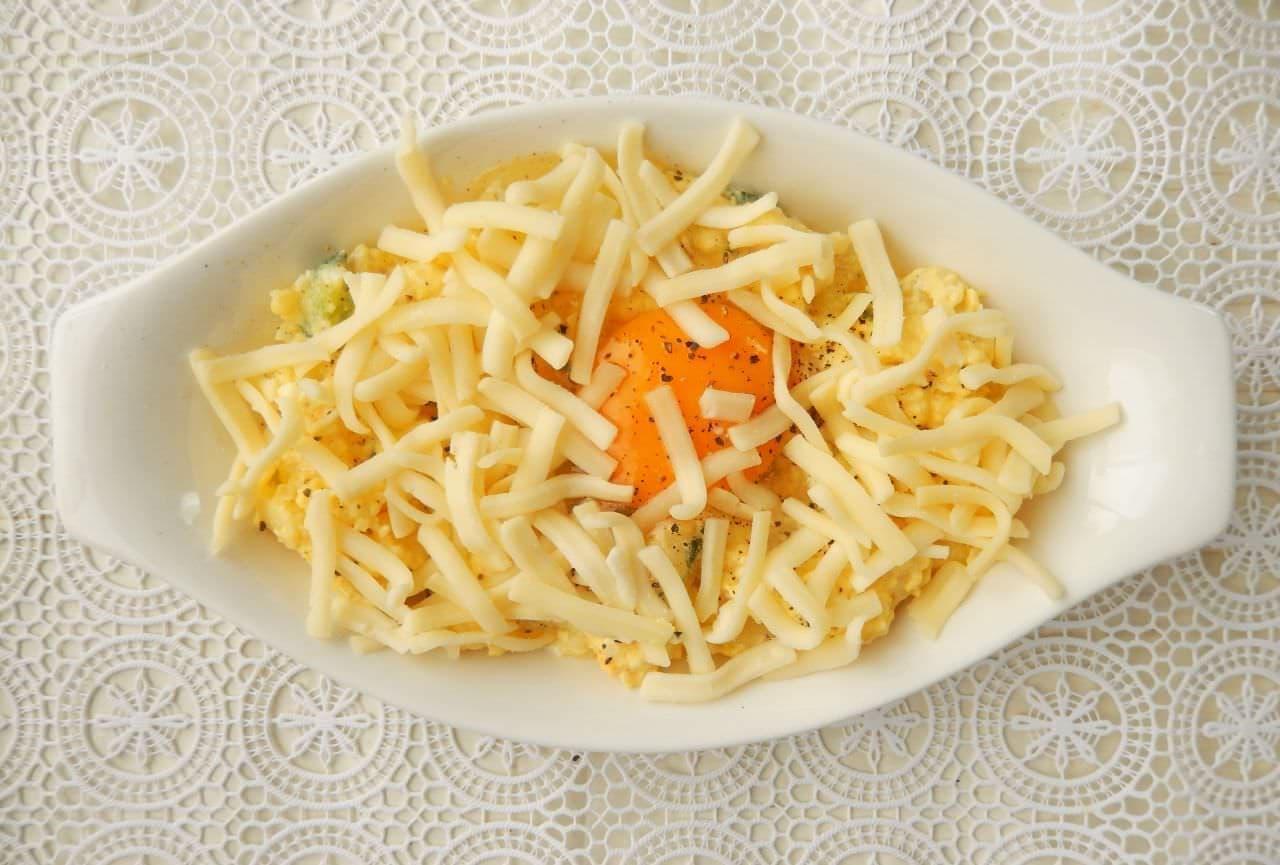 「ポテサラ卵グラタン」簡単レシピ