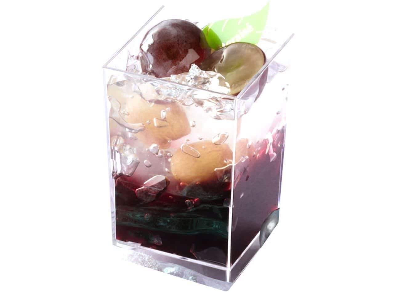 シャトレーゼ「山梨県産ピオーネ使用 ピオーネのカップデザート」