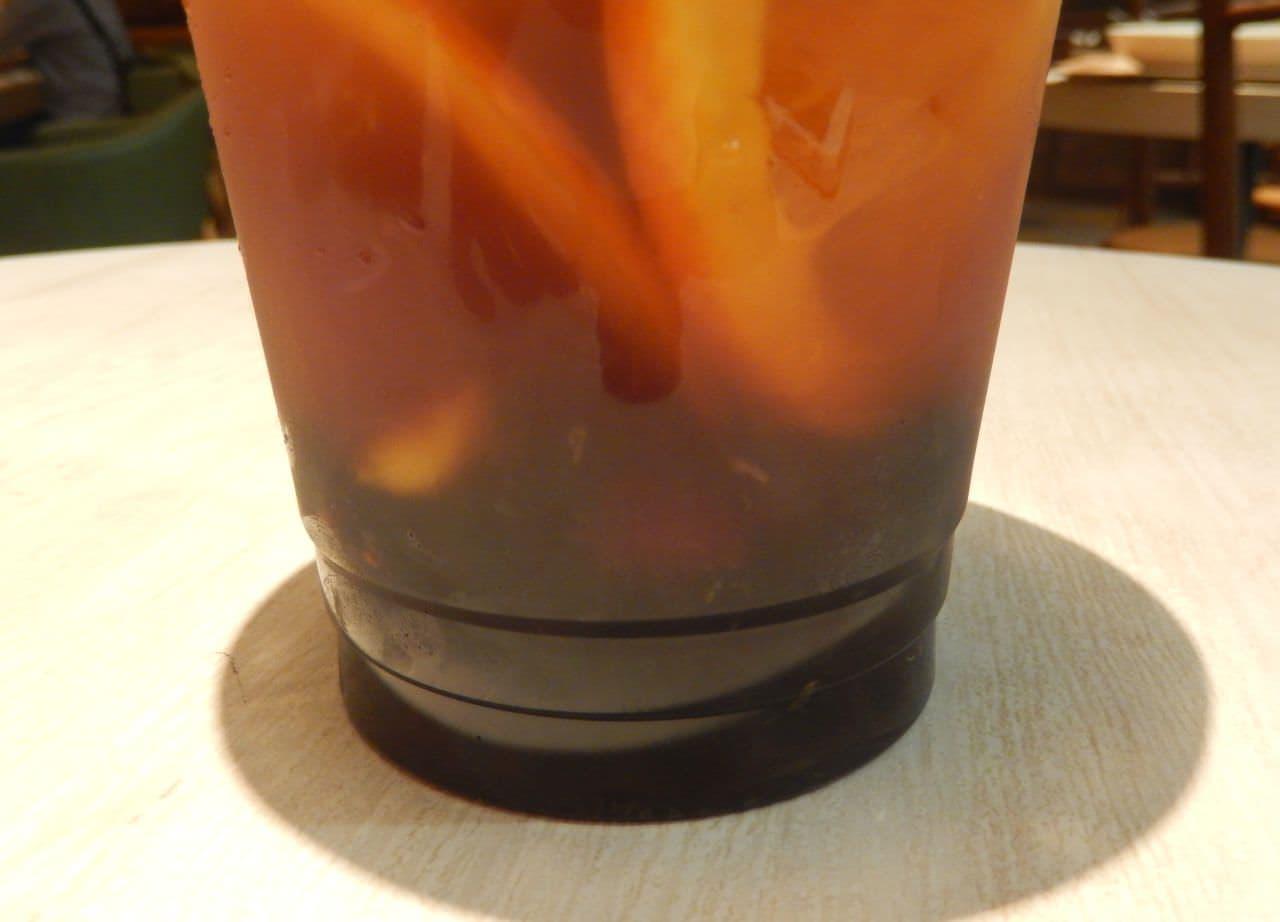 ワイアードカフェの「タピオカフルーツティー」