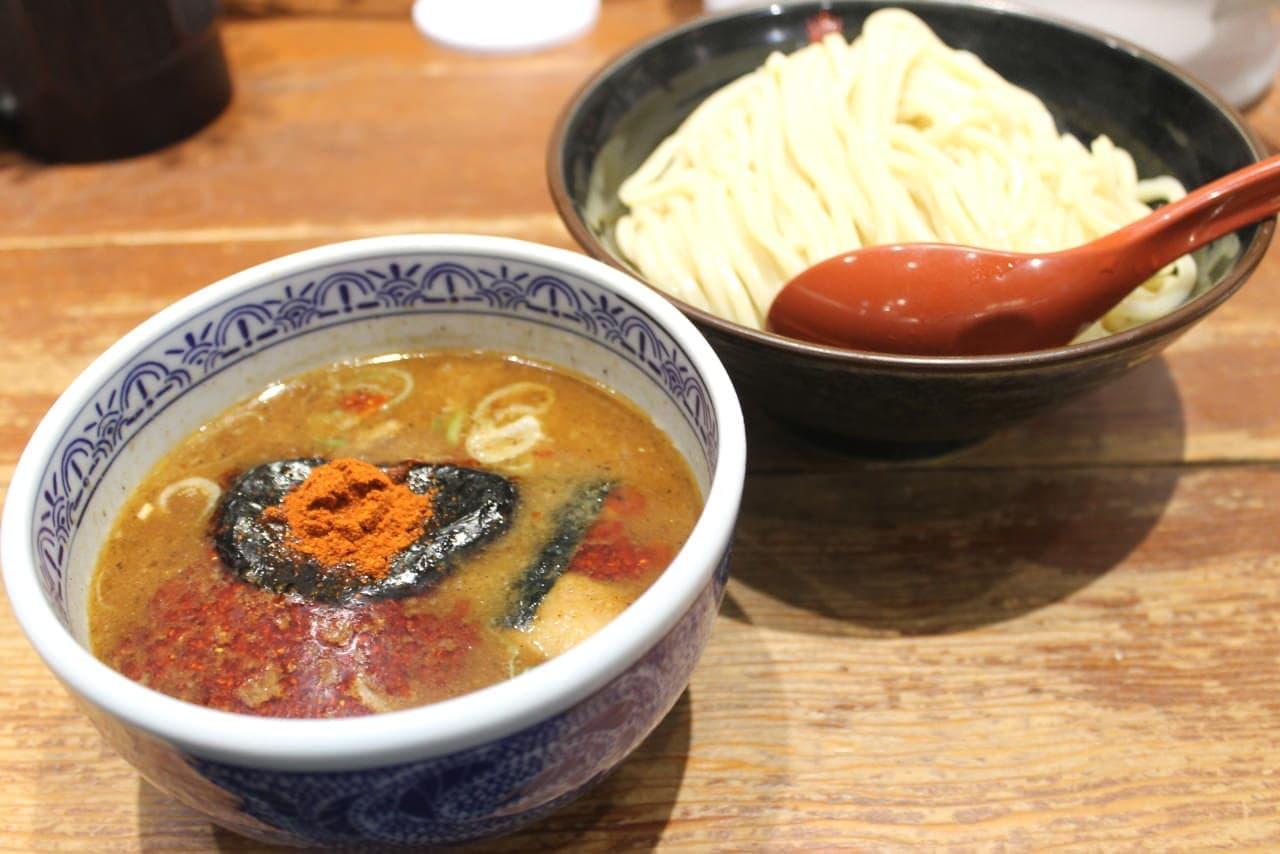 三田製麺所【灼熱つけめん」