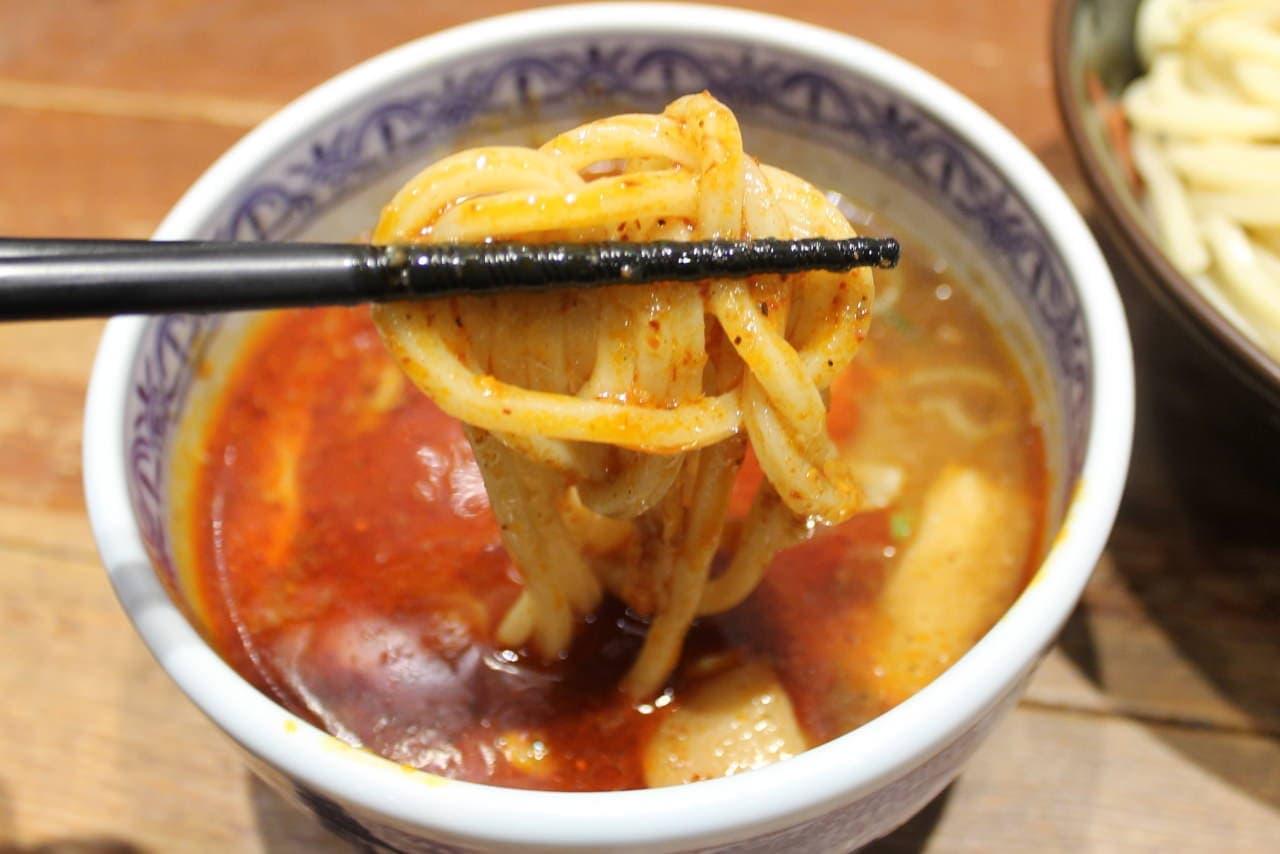 三田製麺所「灼熱つけめん」