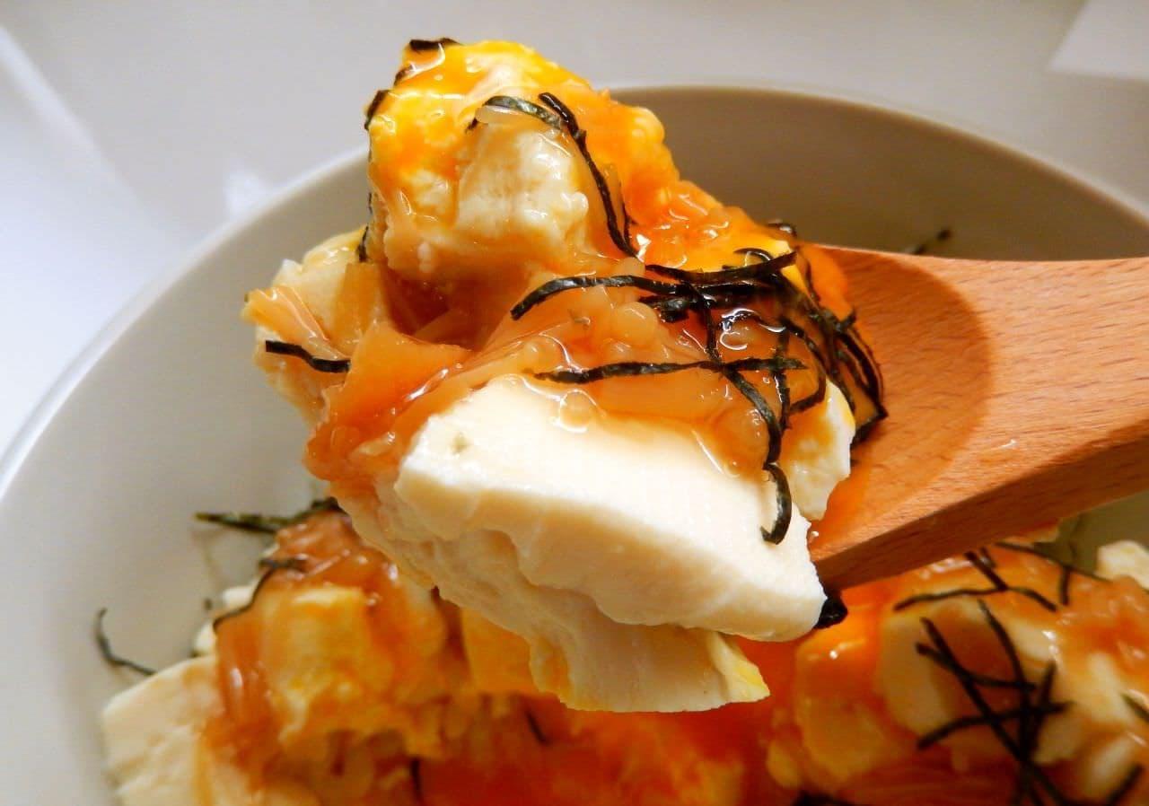 10分でできる「なめたま豆腐丼」