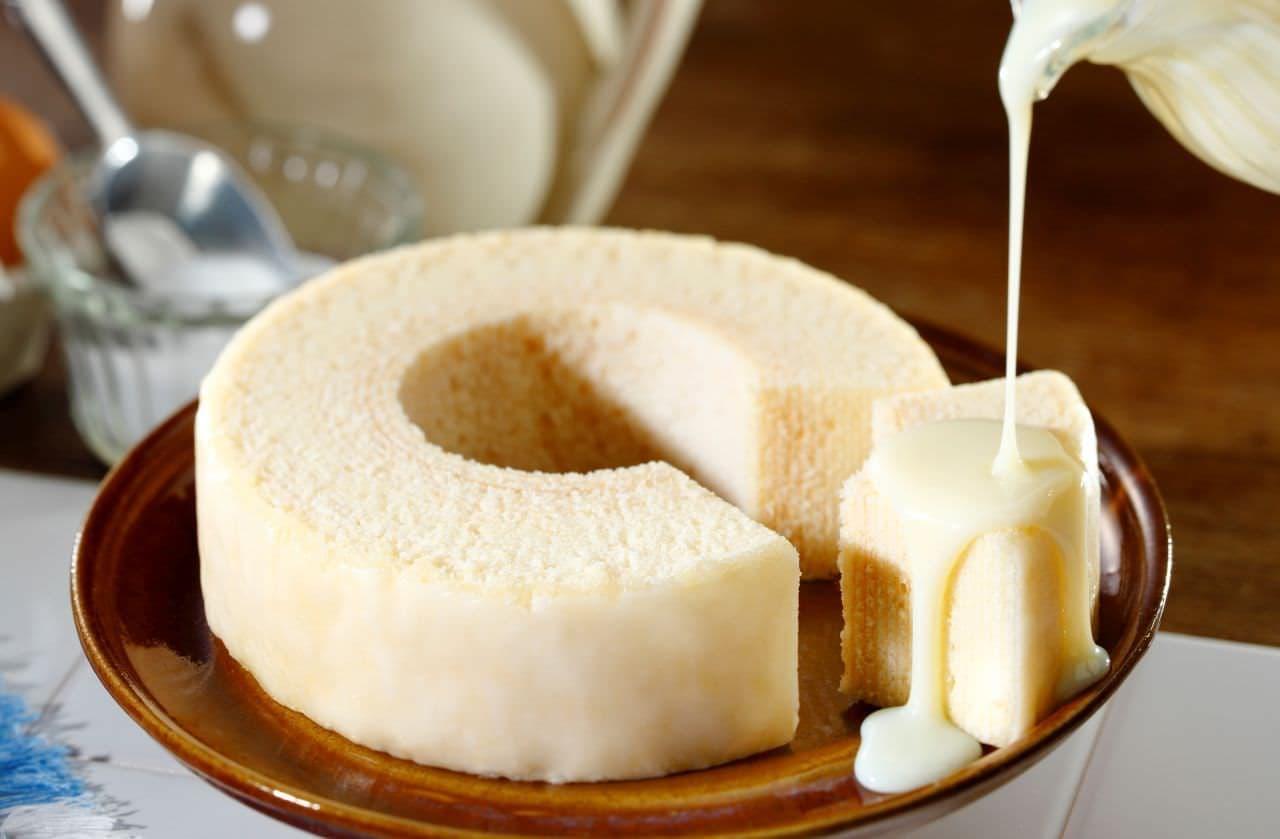 店舗限定「ミルクチーズバームクーヘン」東京ミルクチーズ工場から