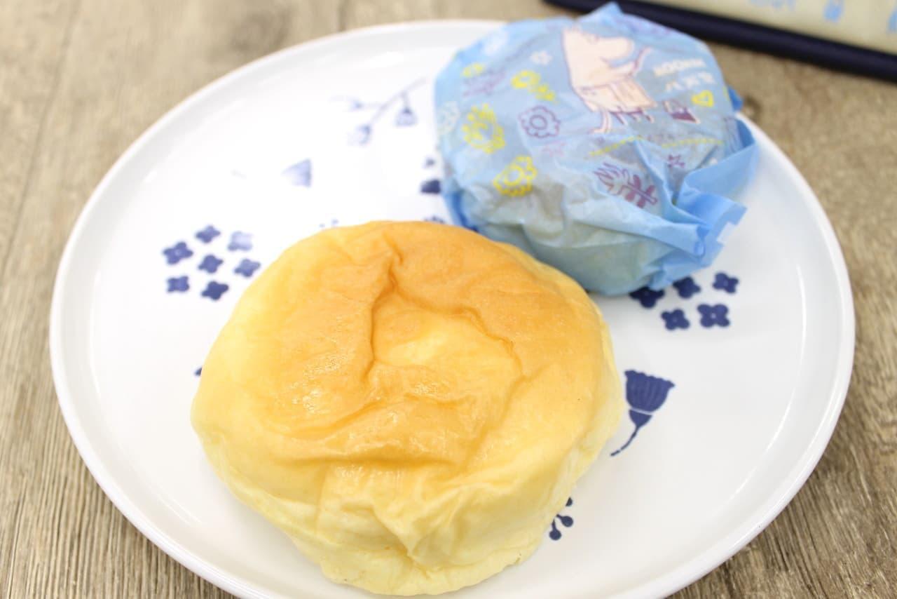 八天堂からムーミンのくりーむパン
