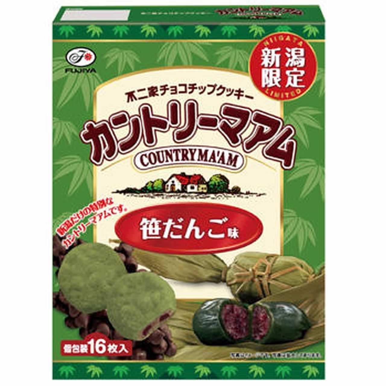 カントリーマアム「【新潟限定】16枚カントリーマアム(笹だんご味)」