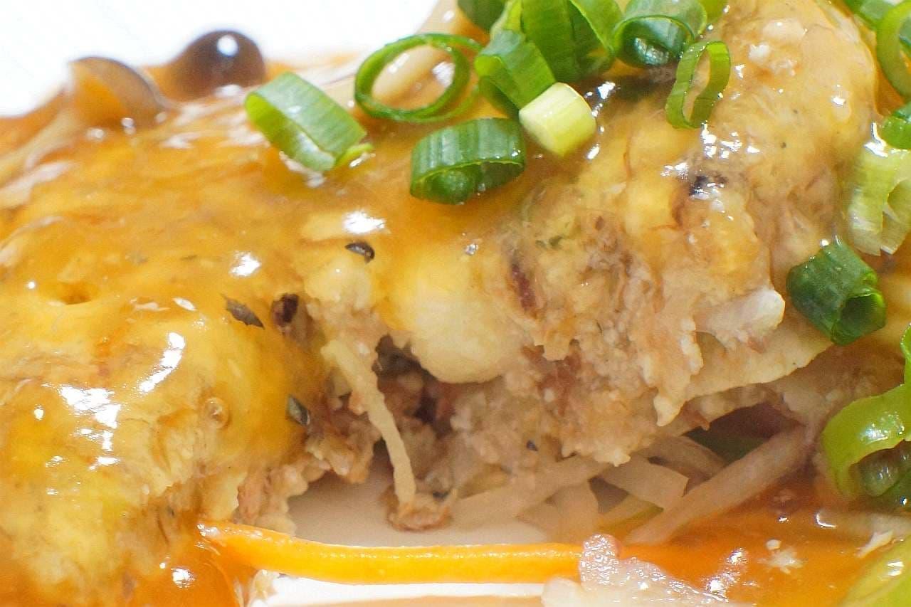 サバ缶レシピ「サバと豆腐のハンバーグ」