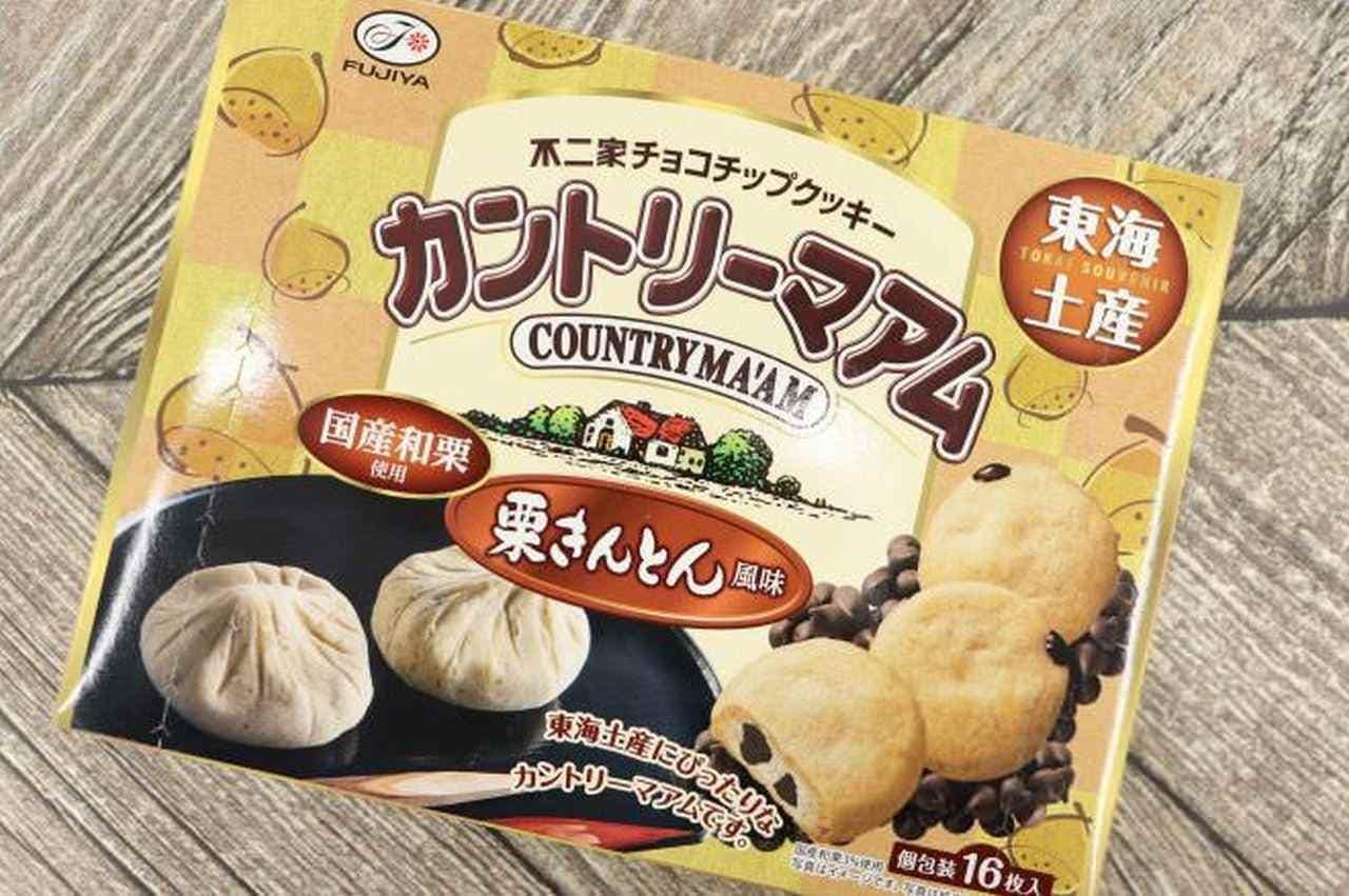 カントリーマアム「【東海限定】16枚カントリーマアム(栗きんとん風味)」
