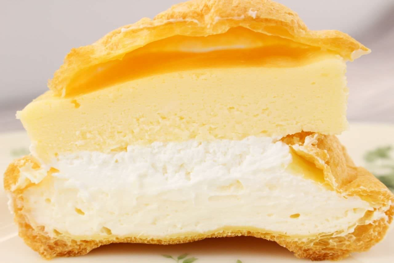 ローソンストア100「チーズケーキ入れちゃったシュー」