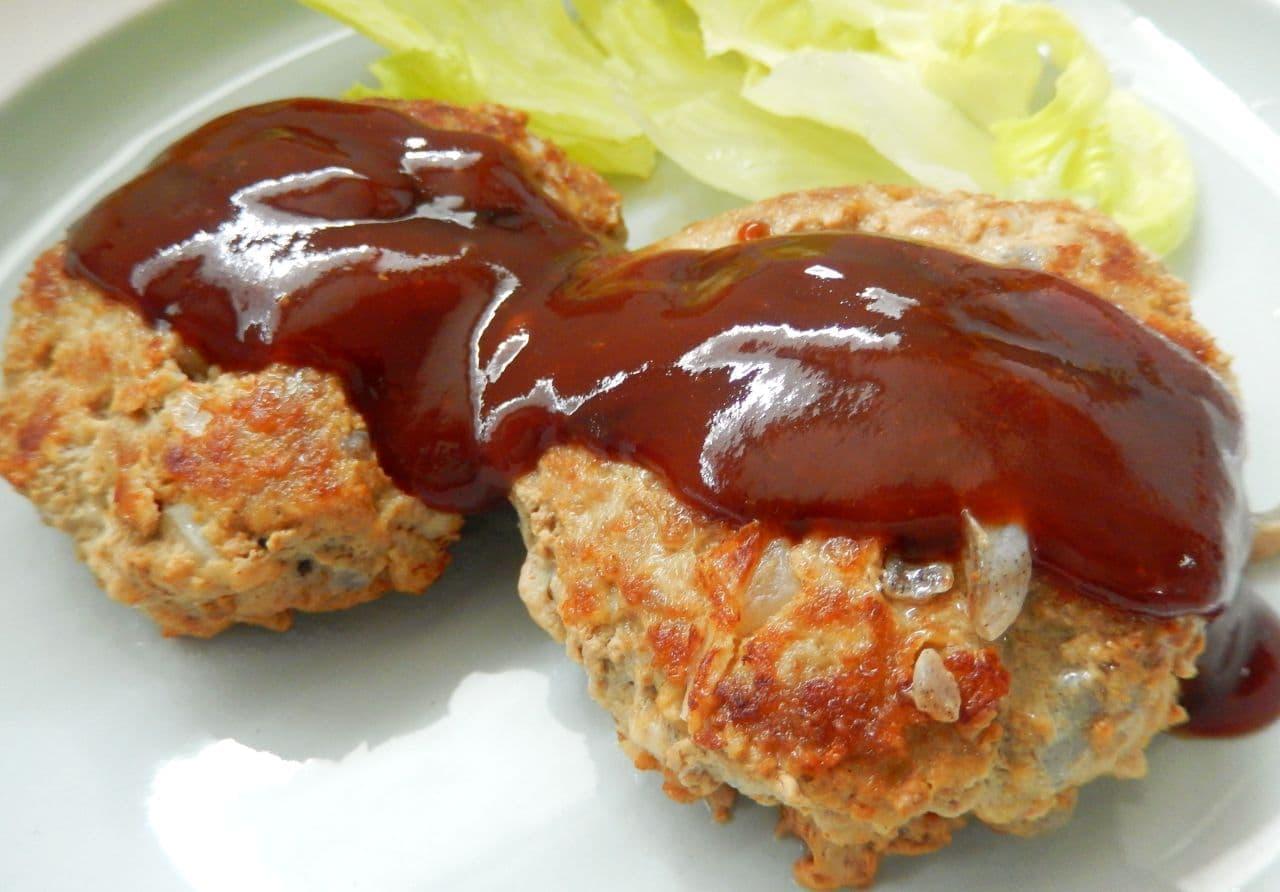 ダイエットの味方「こんにゃくハンバーグ」の簡単レシピ