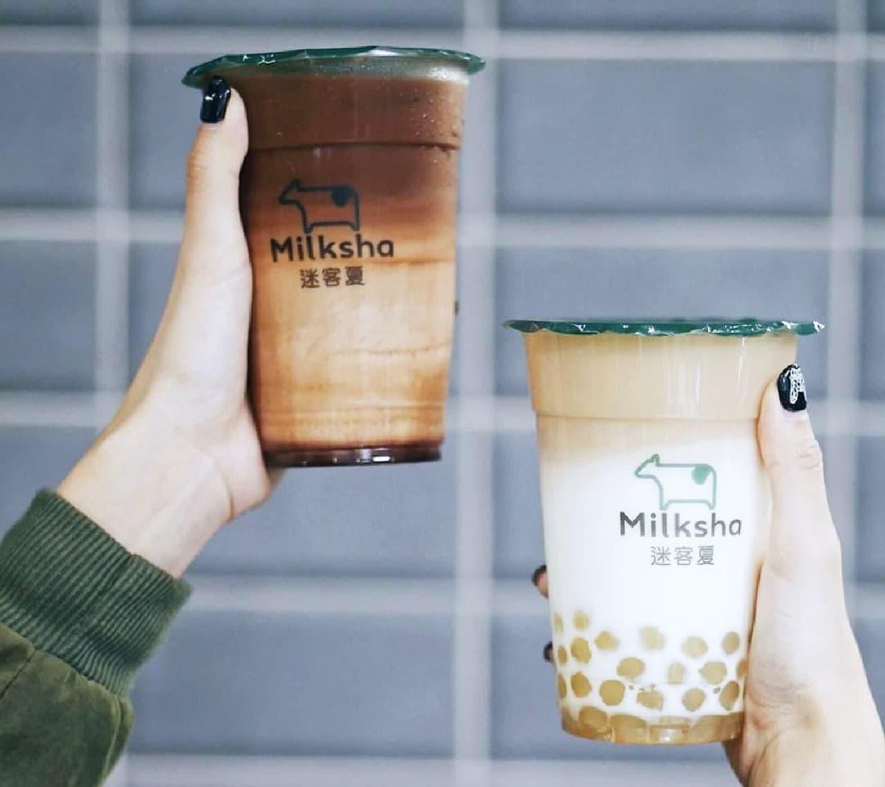 """""""白タピオカ""""の「Milksha(ミルクシャ)」日本上陸!"""