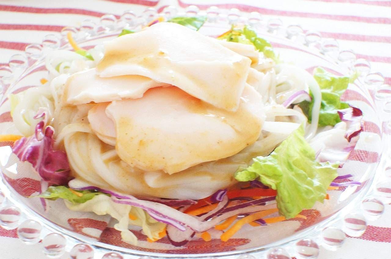 糖質0g麺サラダうどん風