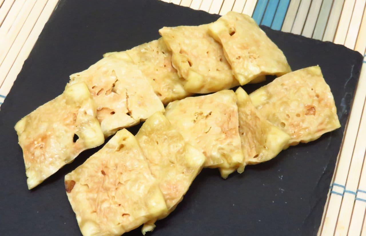低糖質レシピ「豆腐クラッカー」