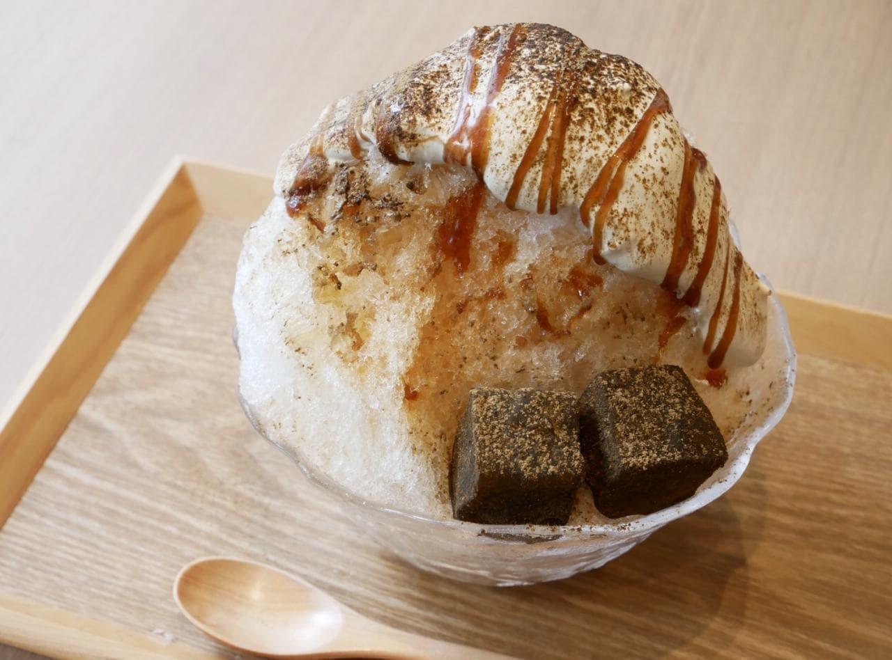 柴いぬ氷」が「大三萬年堂HANARE」夏限定メニューに登場