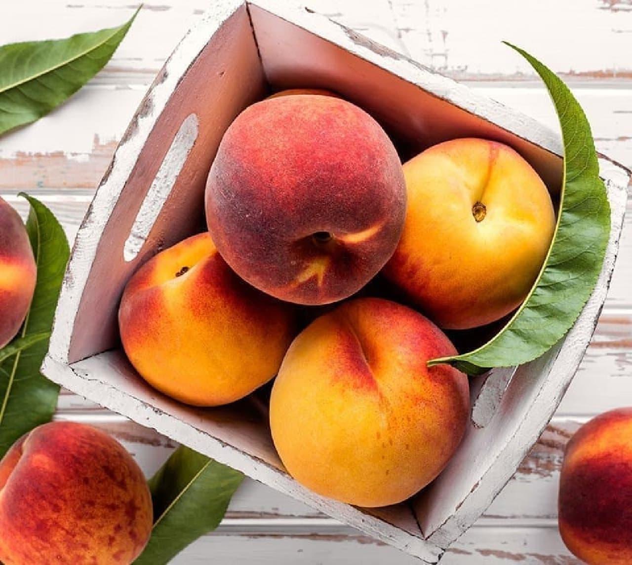 桃は食べても太らない?おいしい桃の見分け方