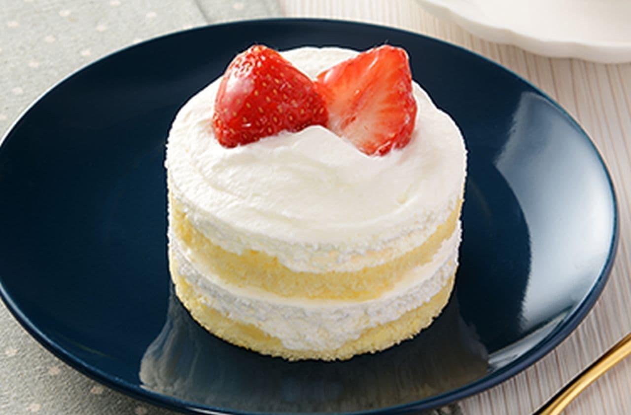 ローソン「天気の子 陽菜のお気に入りショートケーキ」