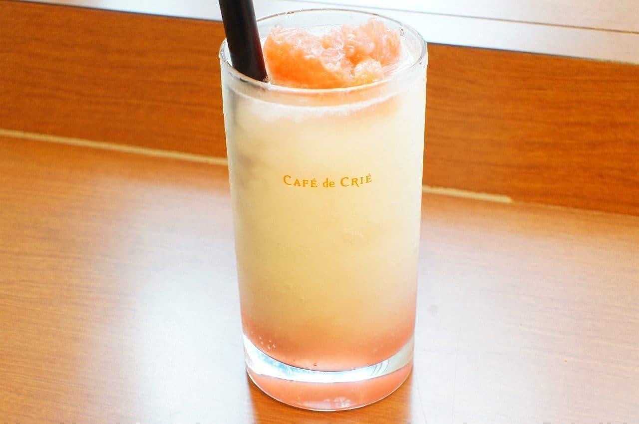 カフェ・ド・クリエ「ソルベージュ ライチ&グレープフルーツ~ほんのり塩味~」