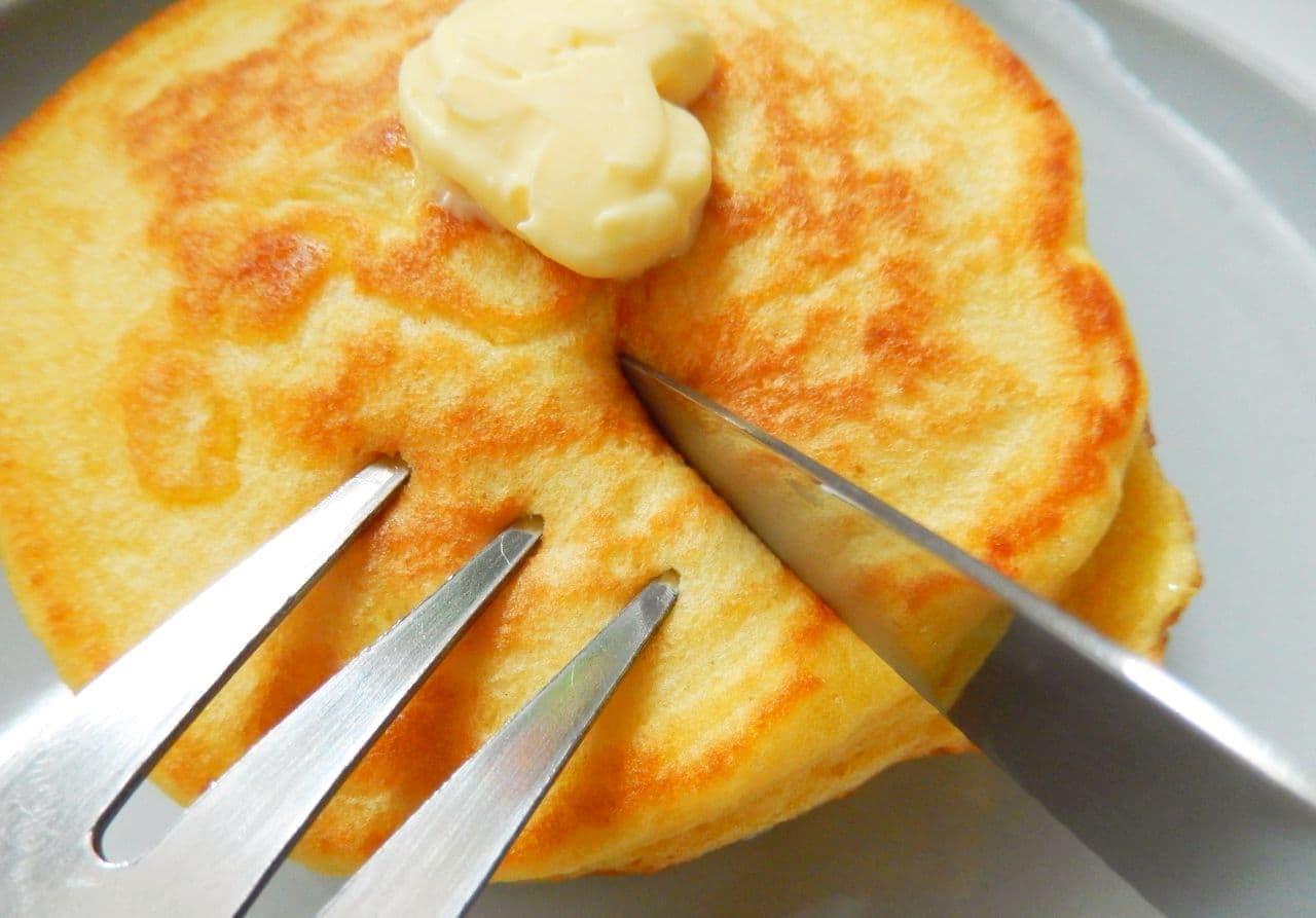 高野豆腐パンケーキのレシピ