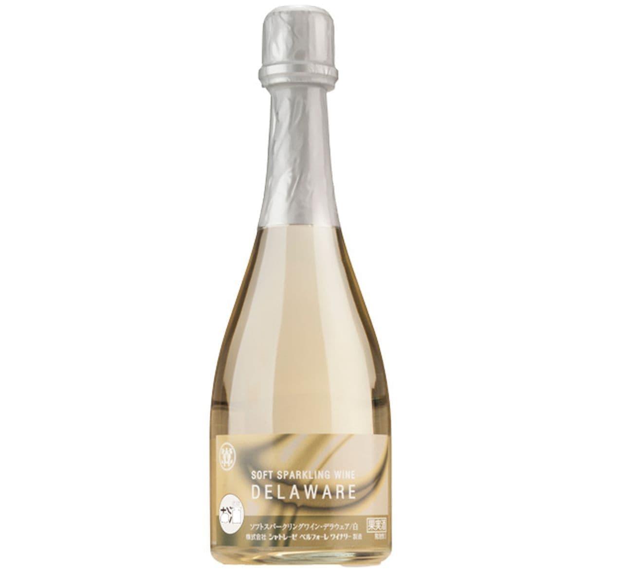 シャトレーゼ「ソフトスパークリングワイン(白)デラウェア」