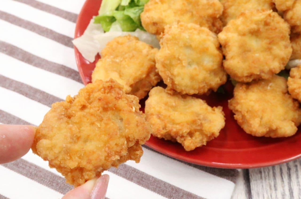 豆腐で作る「豆腐ナゲット」