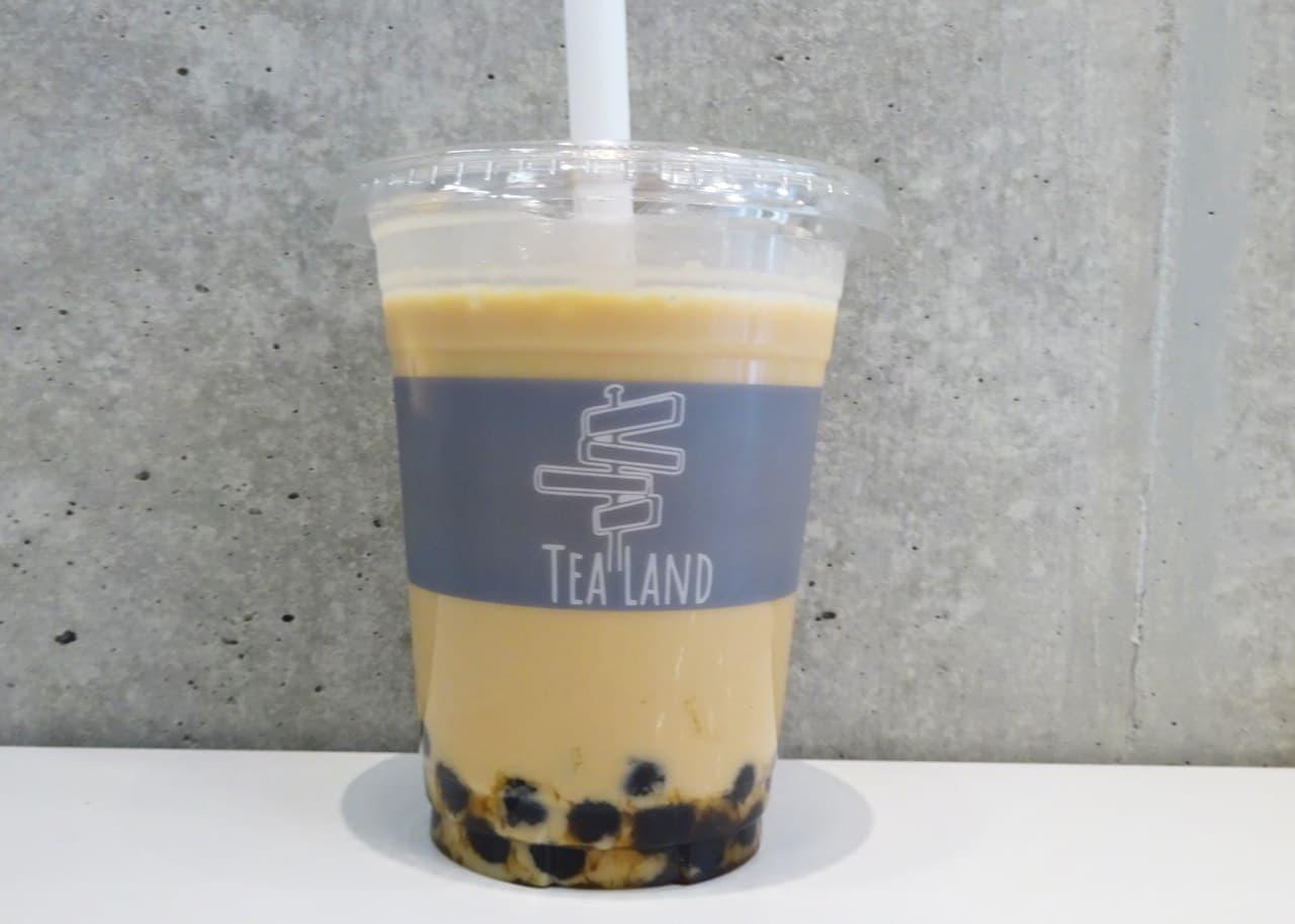タピオカ乗せ放題の「TEA LAND(ティーランド)」三軒茶屋店