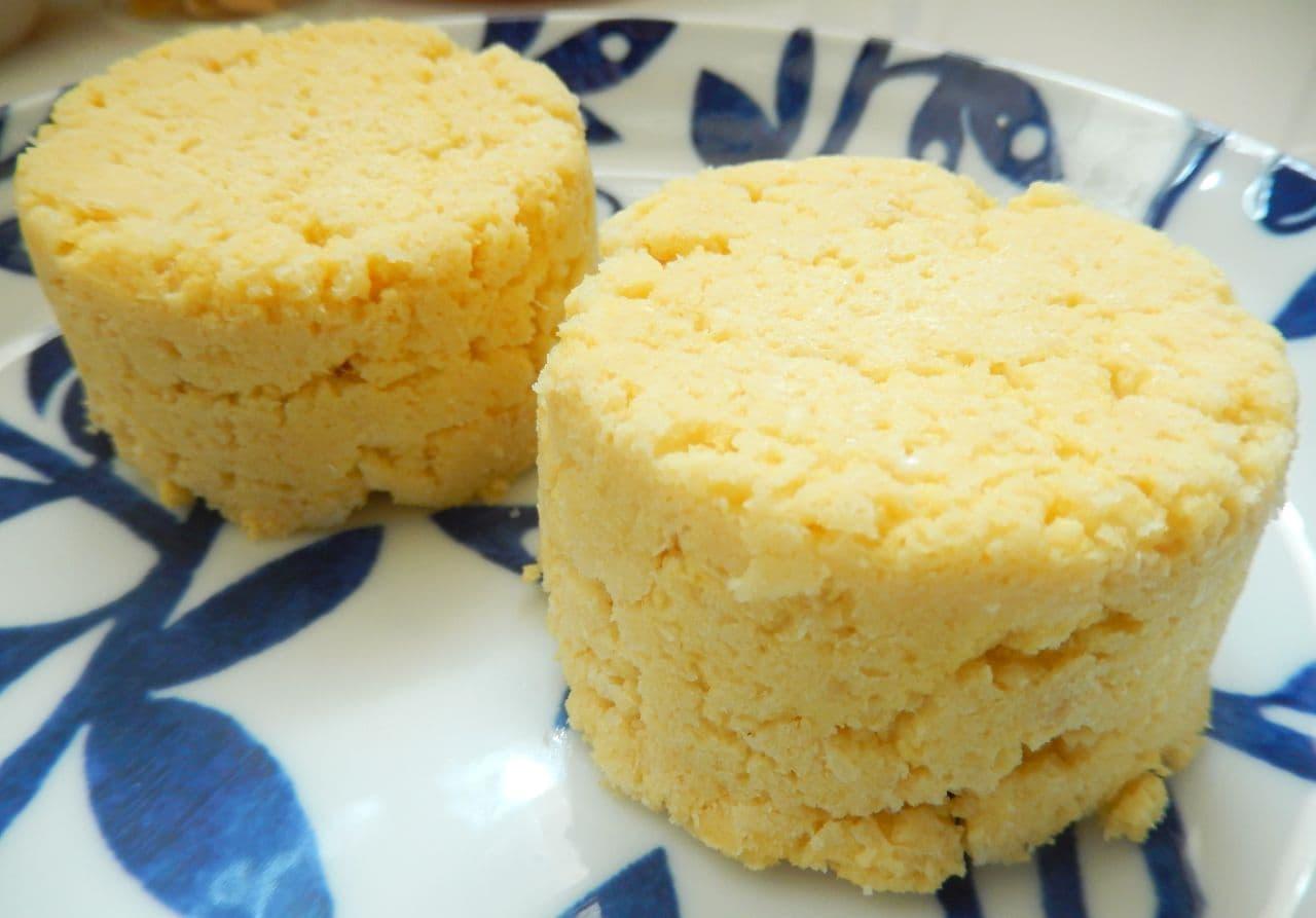 低糖質レシピ「おからの蒸しパン風」