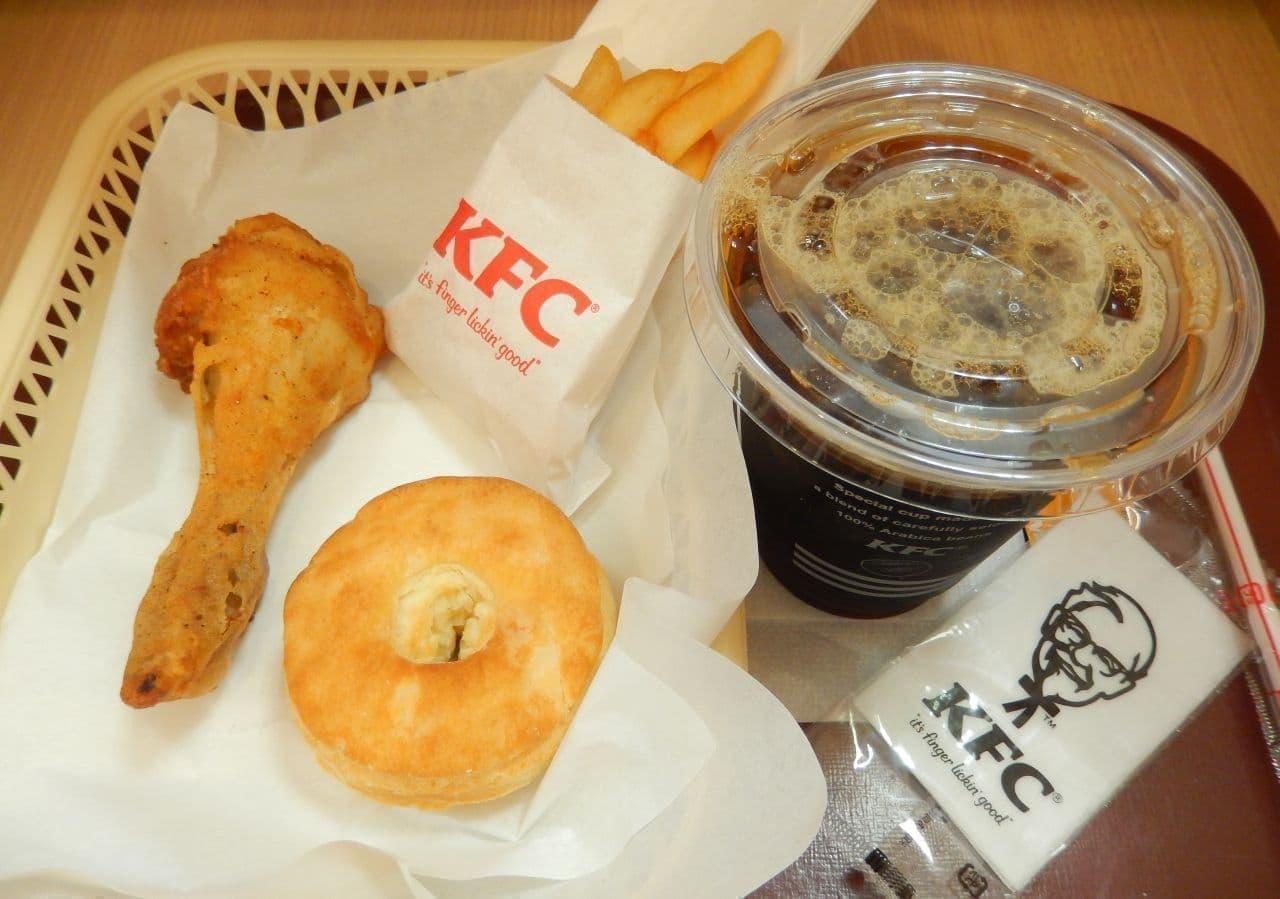 ケンタッキー・フライド・チキン(KFC)の500円ランチ