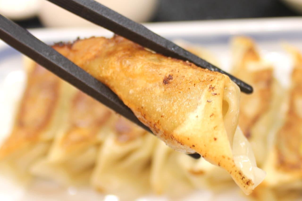 リンガーハット「薄皮ぎょうざ子定食」