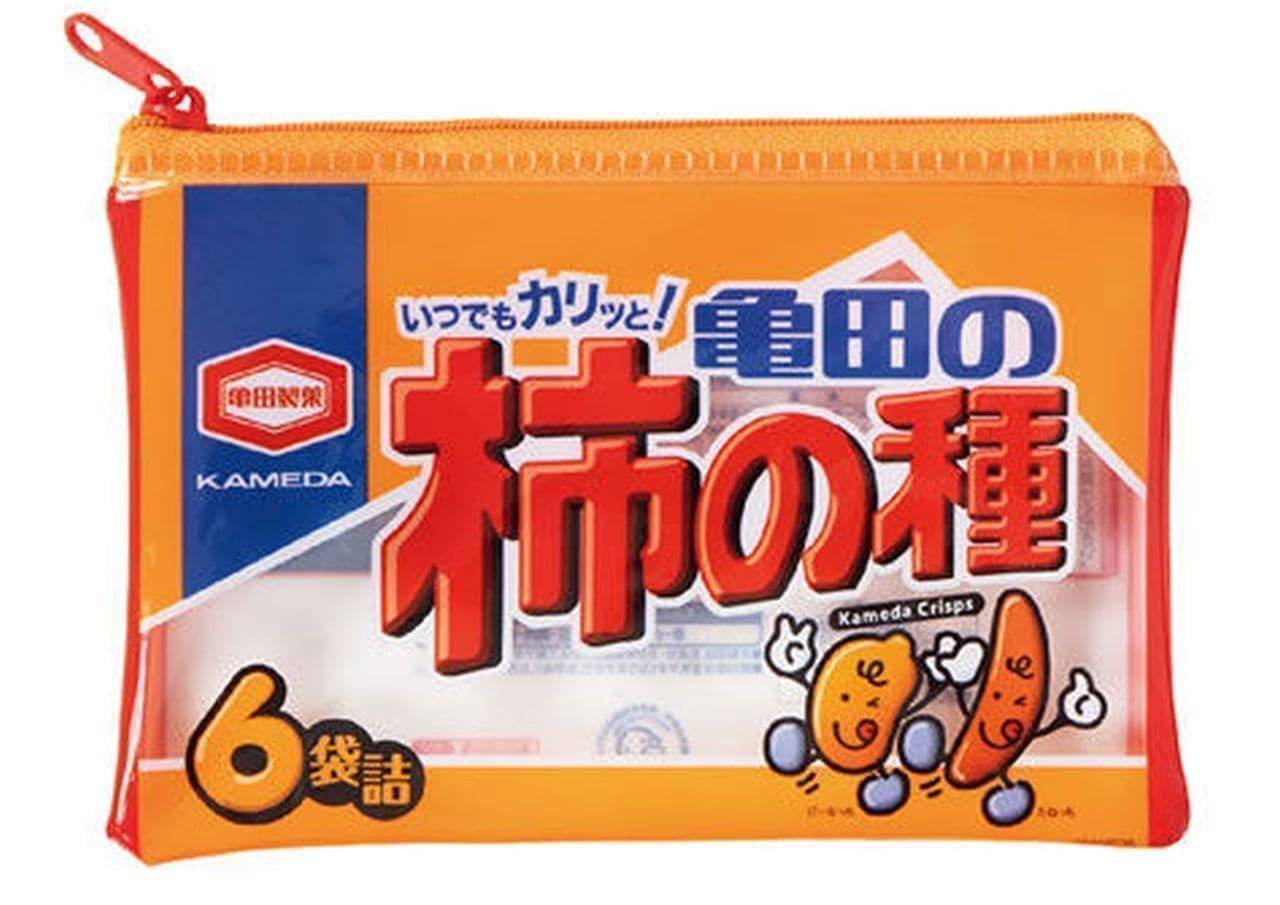 「いつでもカリっと!亀田の柿の種 ぽーちこれくしょん」カプセルトイに