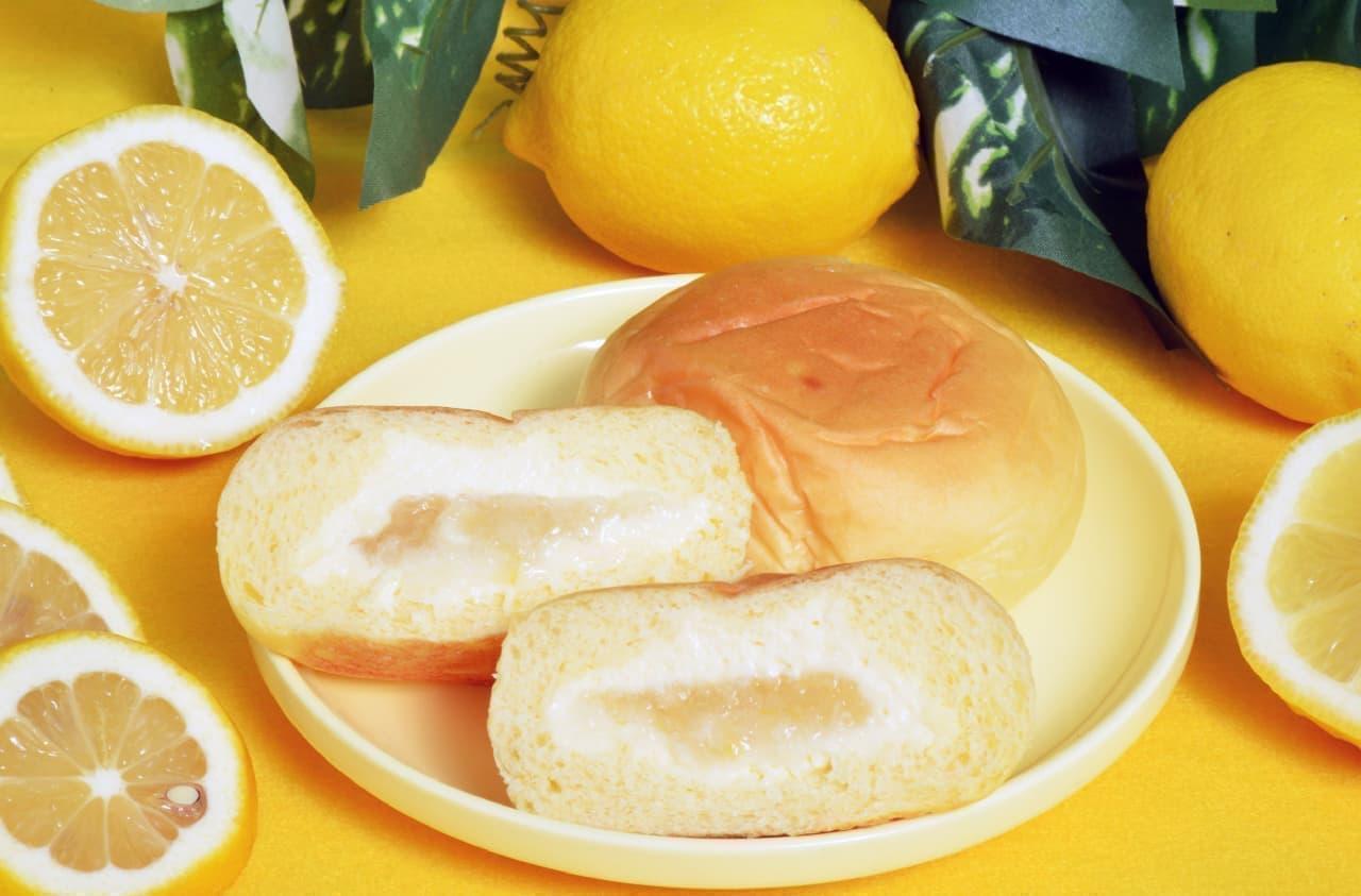 八天堂の「とろけるくりーむパン 瀬戸内レモン」