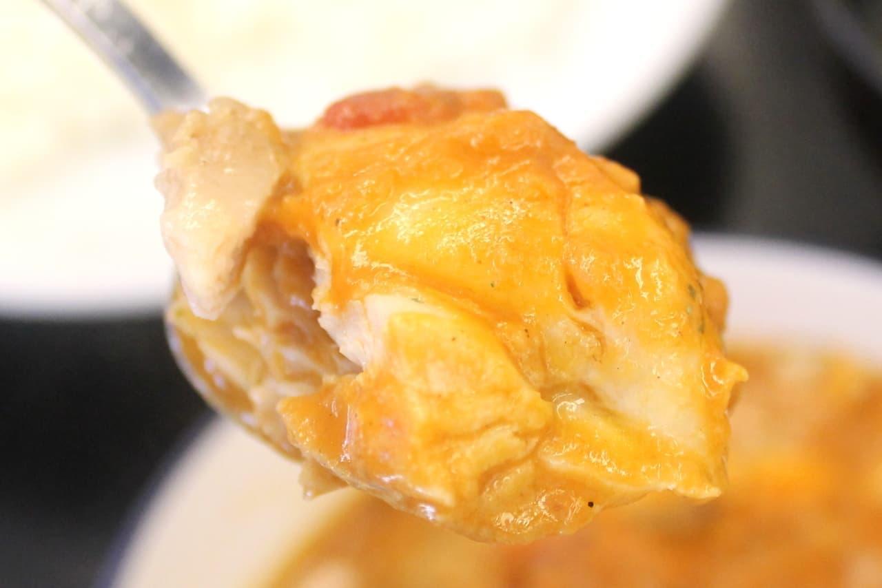 松屋の「ごろごろチキンのバターチキンカレー」