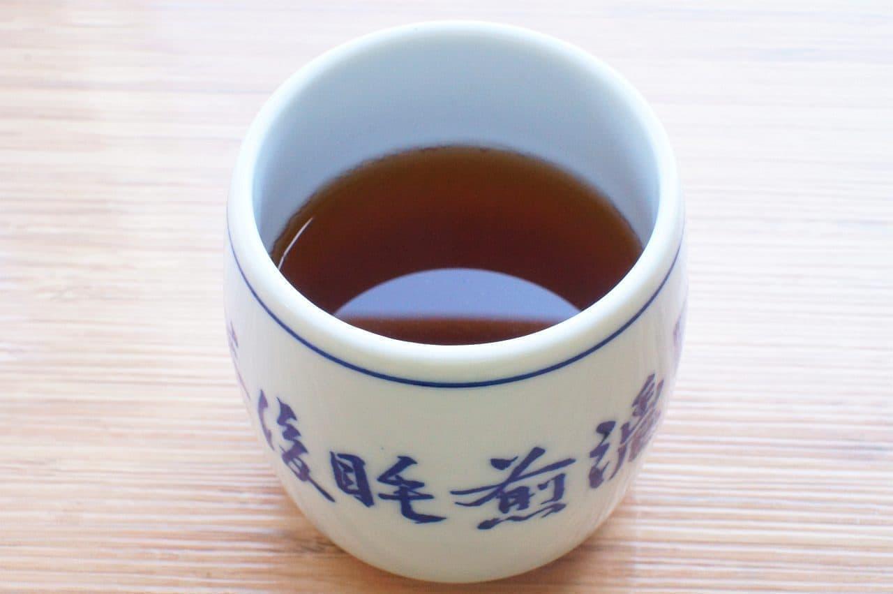茶寮都路里のほうじ茶
