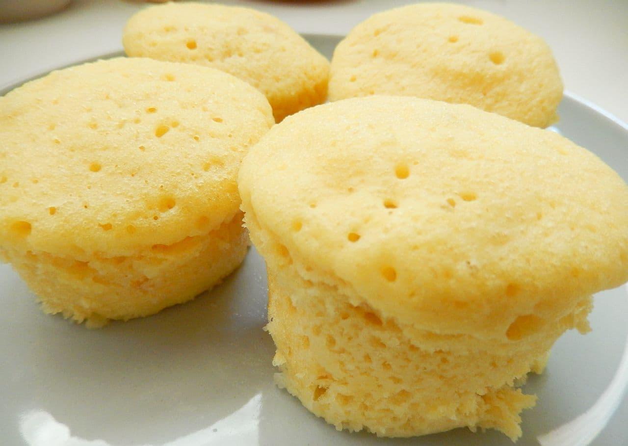 「コンポタ蒸しパン」の簡単レシピ
