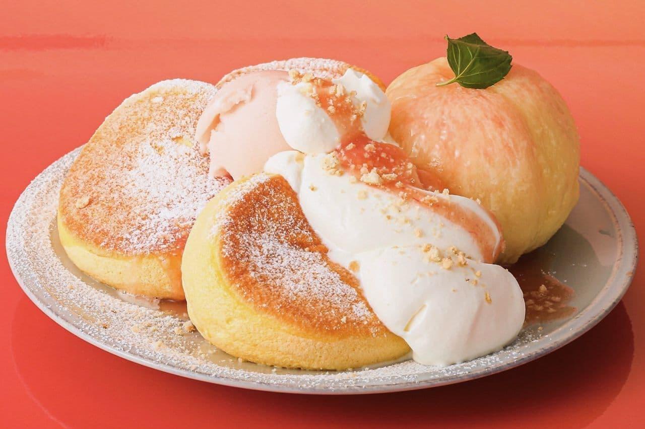 フリッパーズ「奇跡のパンケーキ 白桃」