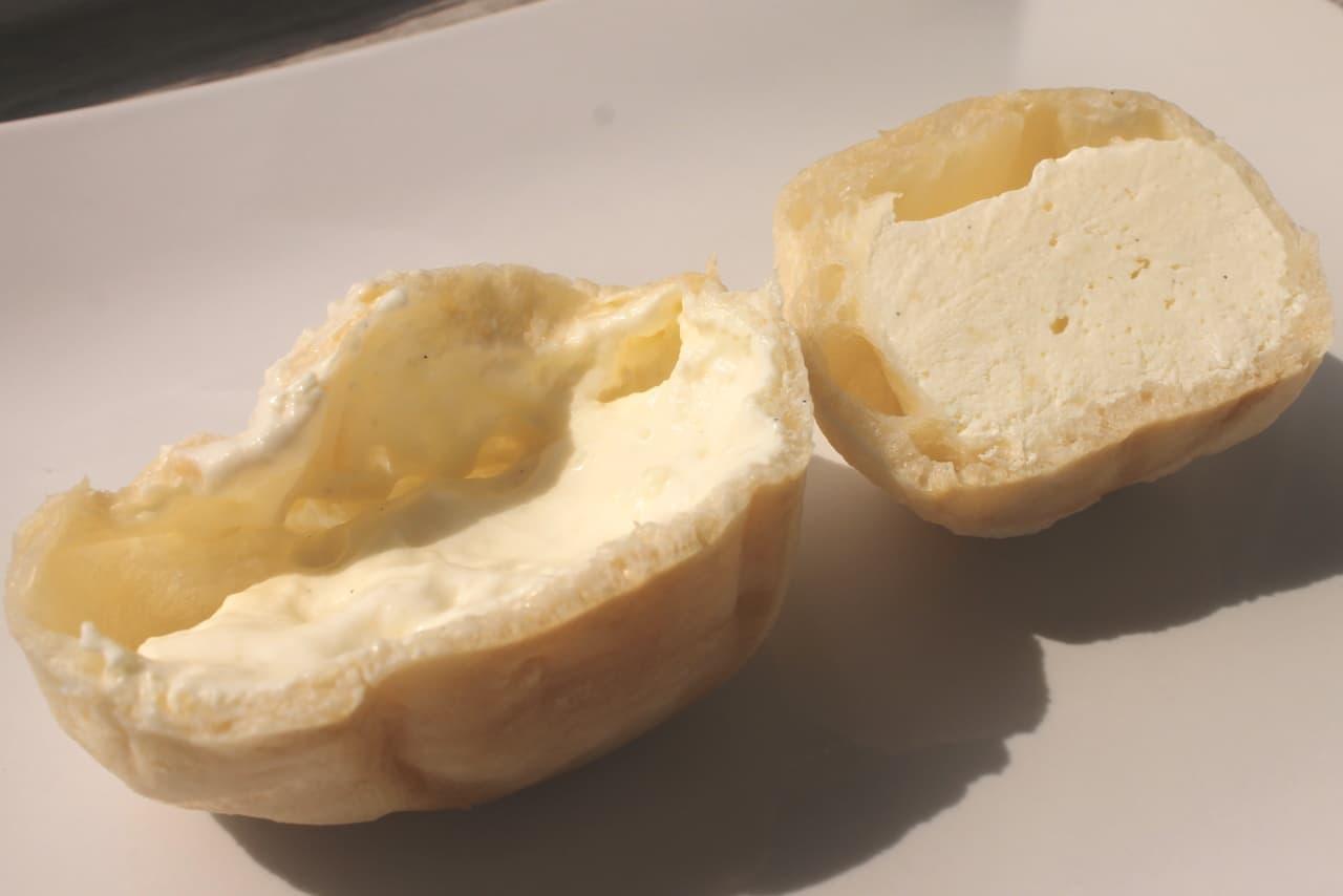 セブン-イレブンのシュークリーム「凍らせてもおいしいバニラもこ」
